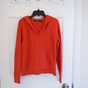 Lauren by Ralph Lauren Hooded Cotton Sweater